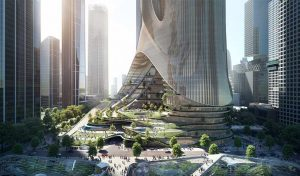 Featured image for Skyscraper Will Use Aquaponic Gardens To Purify Shenzhen Air article