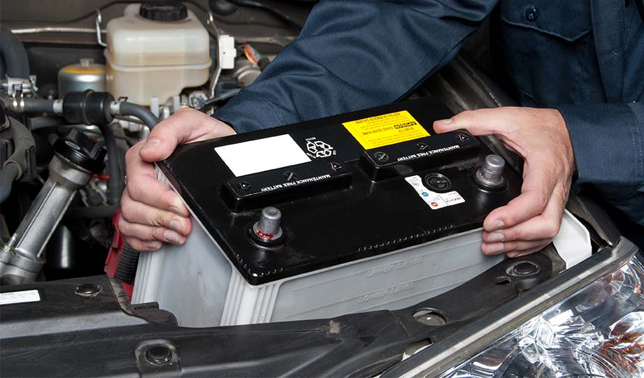 Featured image for car battery recycling article