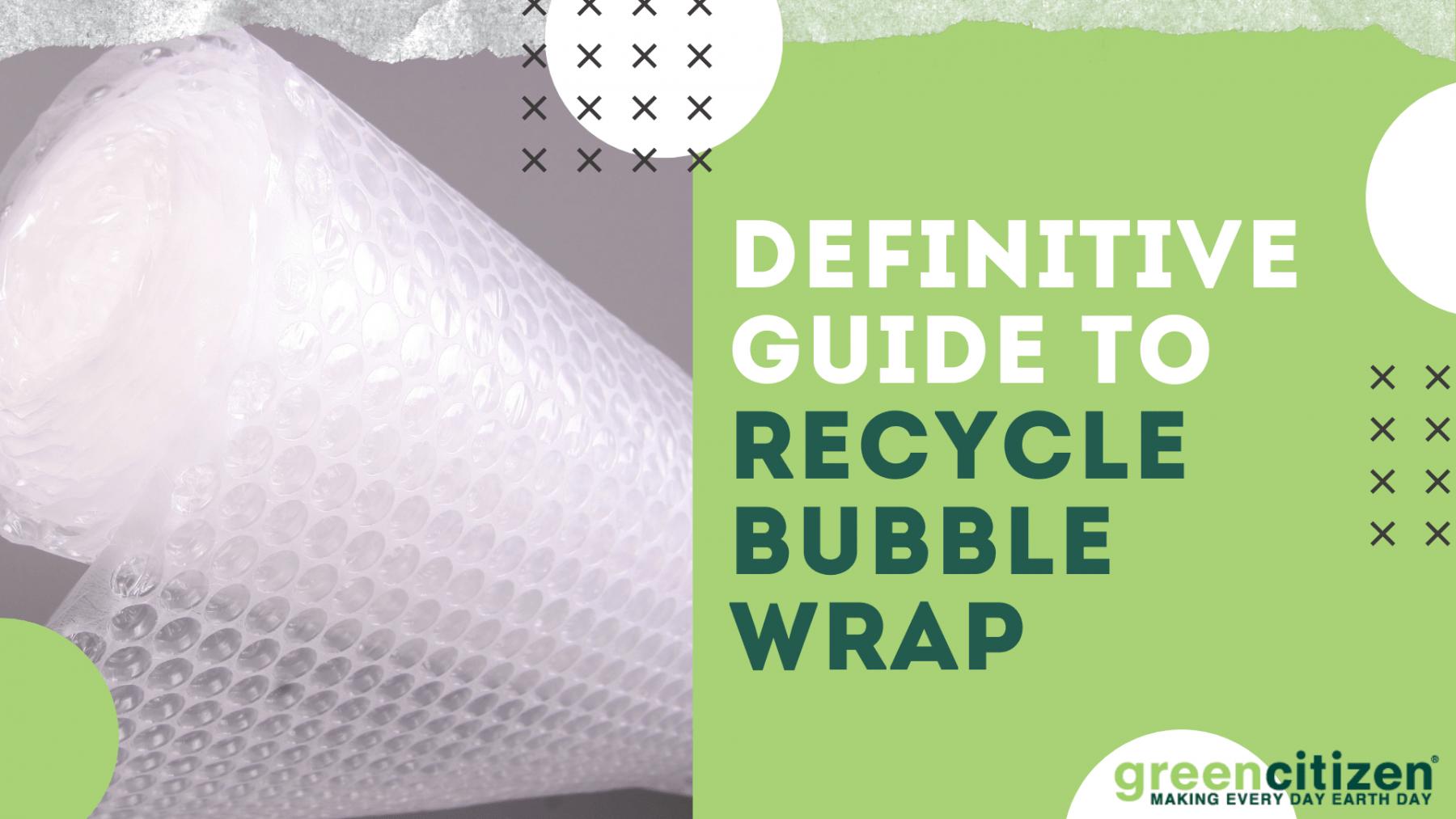 Recycle Bubble Wrap