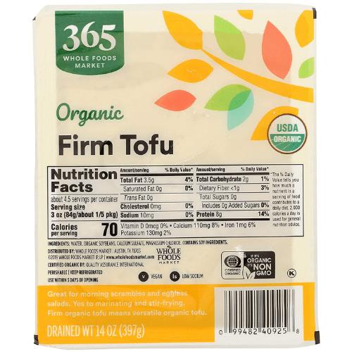 Tofu Firm Organic