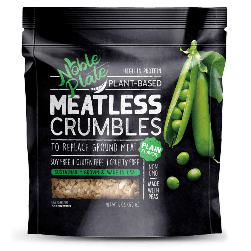 meat alternatives meatless crumbles