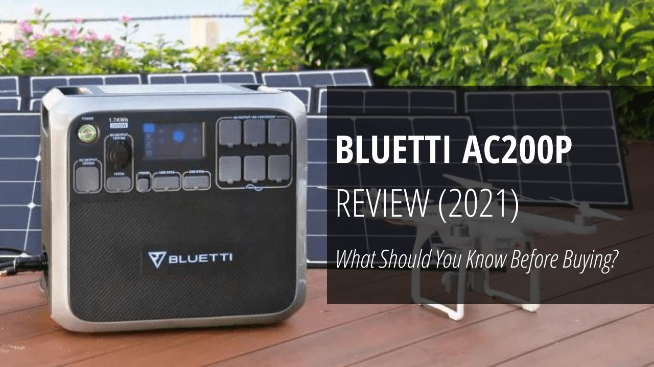 BLUETTI AC200P review