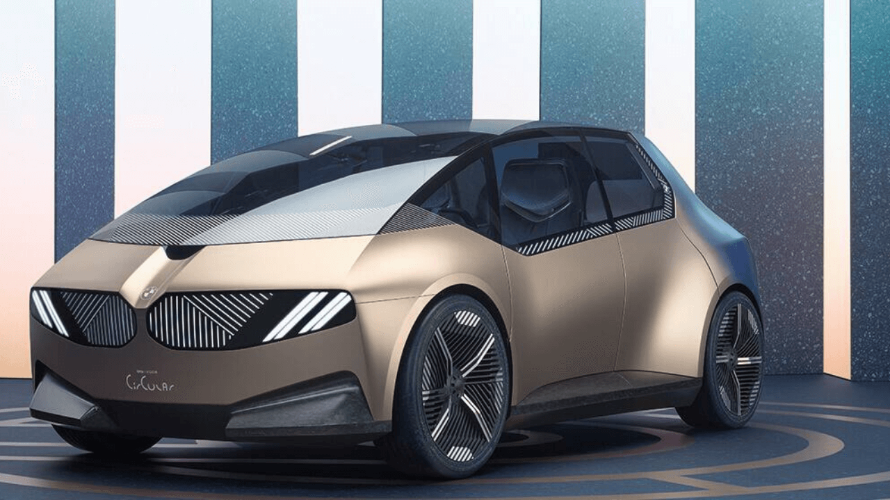 BMW Introduces Fully Recyclable Electric Car
