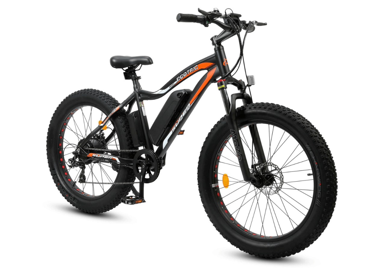 best ebike ecotric fat tire beach snow
