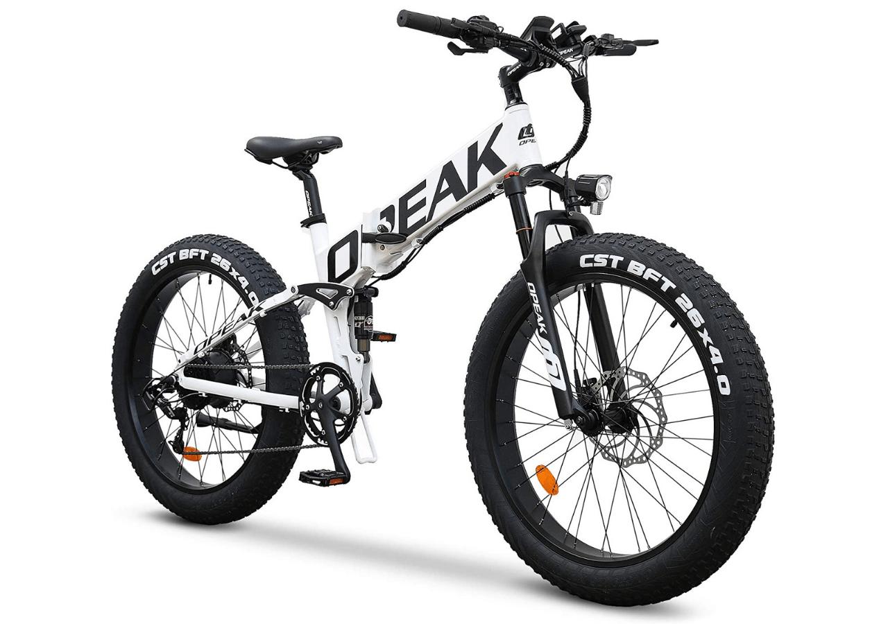 Opeak Ebike Foldable Electric Bike