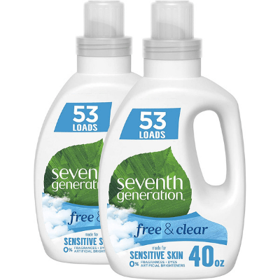 Seventh generation Eco-Friendly Laundry Detergents